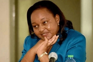 Waiguru fiercely defends Uhuru against Raila's accusations
