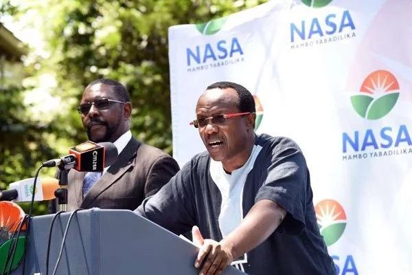 Miguna Miguna letter accusimg NASA CEO of plans to killl NRM