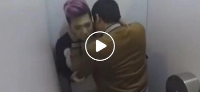 Hala kumpirmado! Vice Ganda and Coco Martin caught making out inside a public bathroom