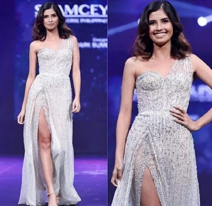 Kanino mas bagay? Shamcey Supsup's gown is similar to what Janella Salvador wore at Star magic Ball 2017