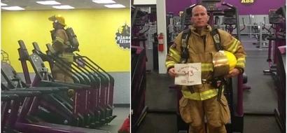 Este bombero subió escaleras en el gimnasio el 11/9 y la razón te romperá el corazón
