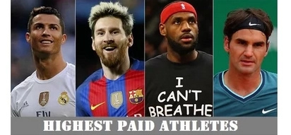20 highest-paid athletes of all-time list