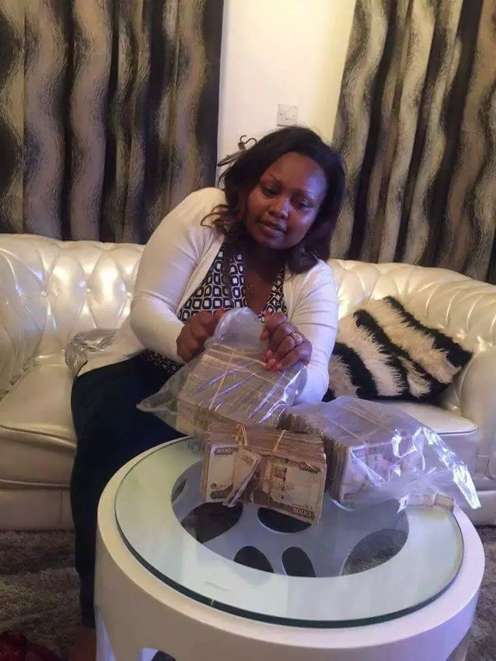 'Msupa na Works' political aspirant shows off millions of shillings