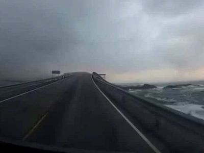 Watch: Stunning dashcam video of this mysterious and beautiful road!