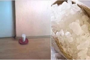 Laissez un verre d'eau avec du sel et du vinaigre dans votre maison et voyez le changement dans votre maison