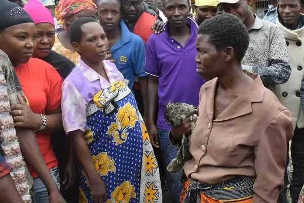 Sadness as starving Kitui woman tries to get food for her children in a very unusual way