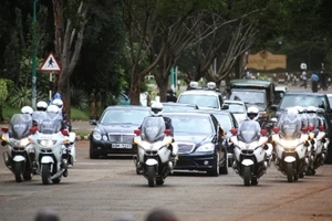 Meet the person who protects President Uhuru Kenyatta (photos)