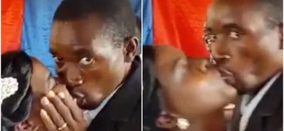 He almost killed the bride when the pastor allowed them to kiss in church