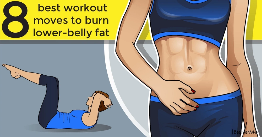 8 best workout moves to burn lower-belly fat