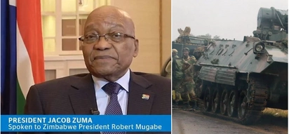 Confirmed! President Robert Mugabe put under house arrest, his fate unknown
