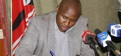 Keter Swears That He Can Get CS Waiguru Kicked Out