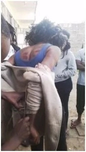 Prostitute busted in KU trying to escape with her client's goods (photos)