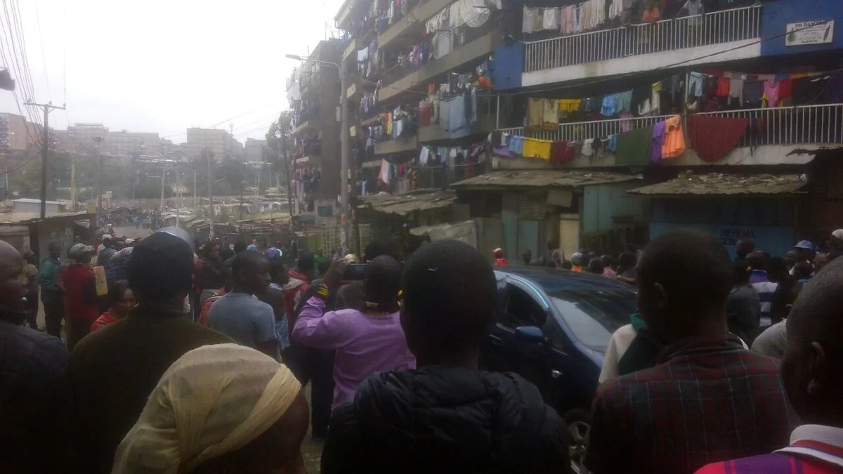 Mathare chaos over election