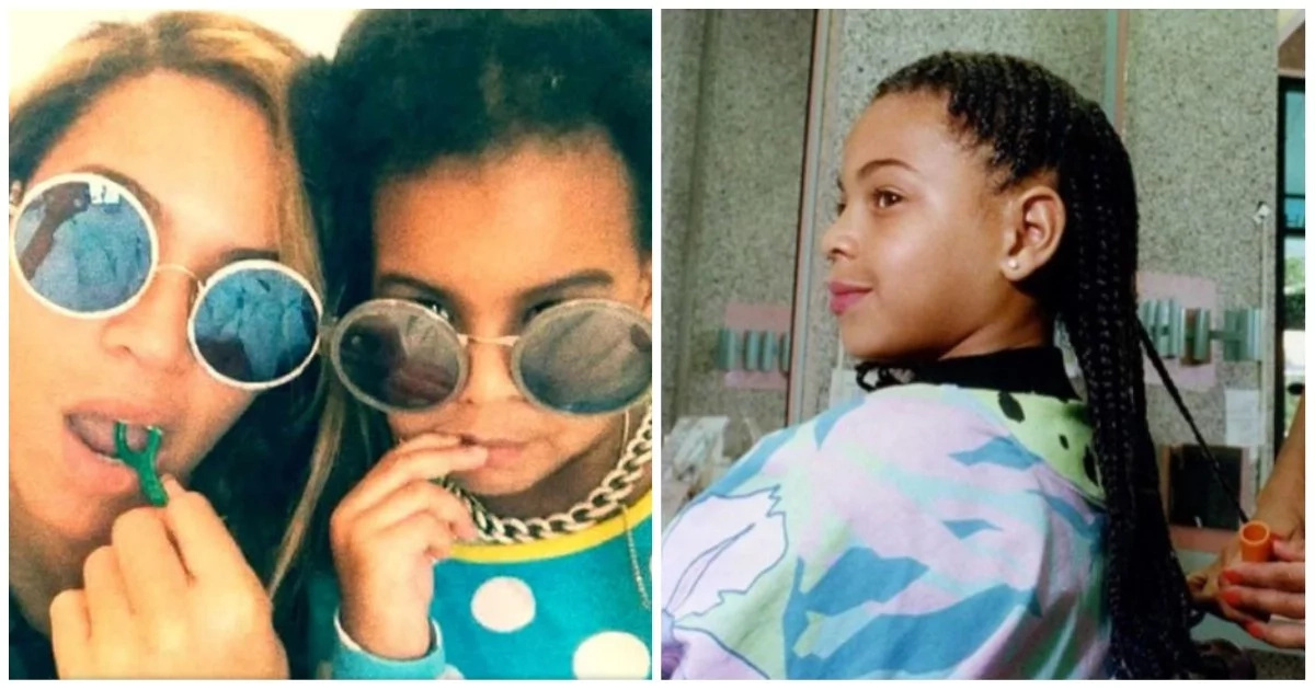 Beyoncé's throwback photos prove Blue Ivy is indeed her mini-me