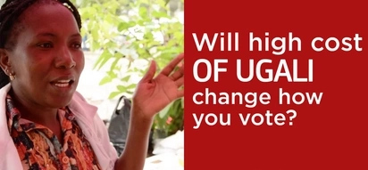 Will high cost of Ugali change how Kenyans vote and prevent the re-election of Jubilee? (video)