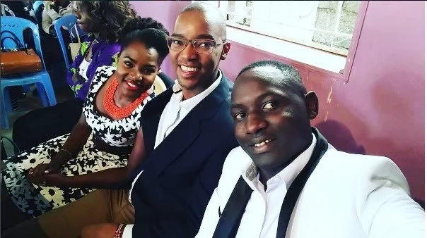 Citizen TV presenter showers celebrity wife with BD message