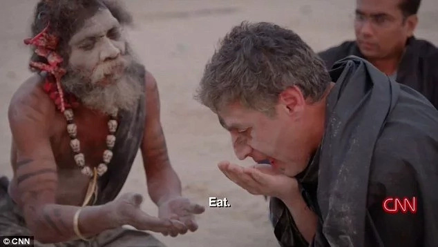 Outrage as TV presenter eats HUMAN BRAIN in documentary on cannibalism (photos)