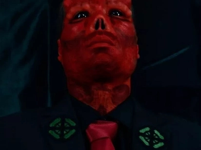 "Father Undergoes Mutiple Surgeries To Look Like Marvel's ""Red Skull"""