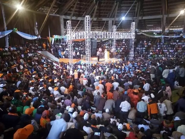 Power Goes out as CORD make GRAND declaration and Kenyans can't deal