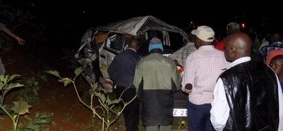 Serious casualties after matatu crashes at night