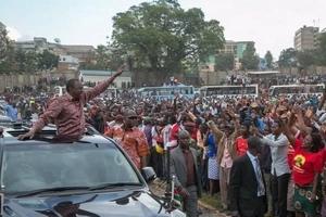 Uhuru arejea katika ngome HATARI ya NASA