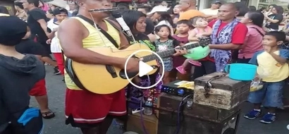 This man has the best talent in the world! Netizen shares video of blind Pinoy singer in inspiring viral video