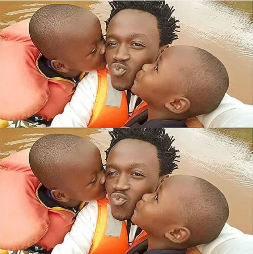 Bahati strives to give his kids what he lacked as a child