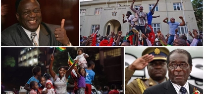 It calls for celebration! Zimbabweans can't hide their joy after Mugabe finally resigned