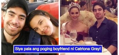 Ang haba talaga ng hair niya! Bb. Pilipinas 2018 winner Catriona Gray and her heartthrob boyfriend Clint Bondad