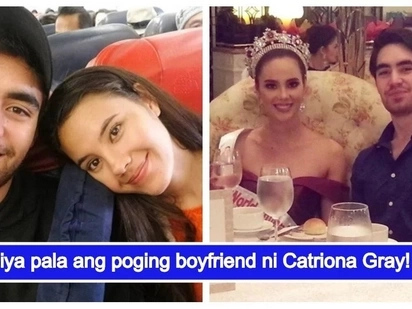 Ang haba talaga ng hair niya! Bb. Pilipinas 2018 winner Catriona Gray and her heartthrob boyfriend Clint Bondad