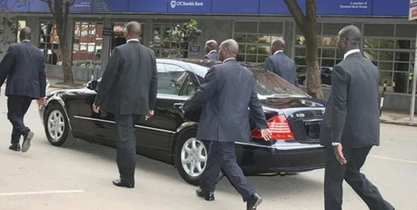 Special police squad arrest 'dirty' Uhuru's bodyguard and the reason is baffling