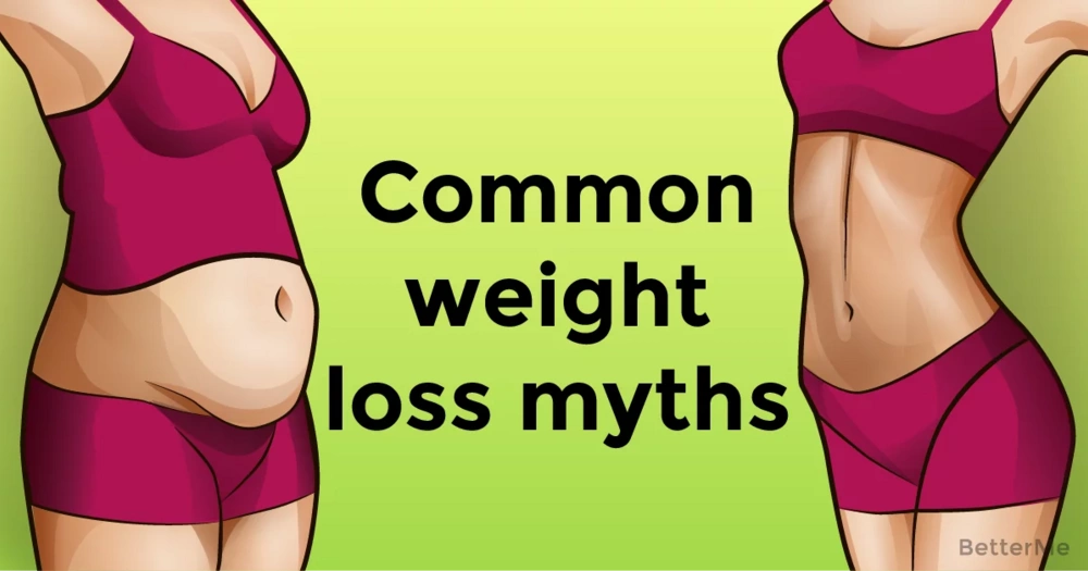 Common weight loss myths women should stop believing