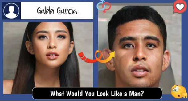 Yung mga guys, pretty rin as girls! Local Celebrity love teams still look great after using facebook's latest craze