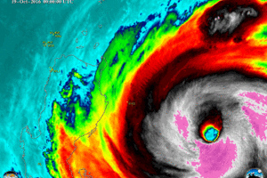 Buti nakaalis na! Horrified scientists found something terrifying inside the eye of super typhoon Lawin