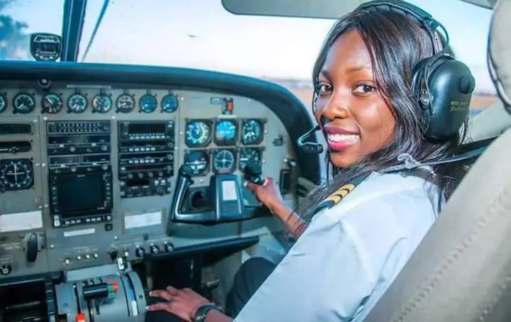 Meet Africa's youngest female commercial pilot from Zambia