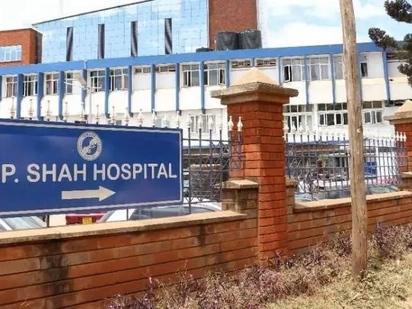 Familia isiyojiweza kulipa bili ya KSh 858,355 katika hospitali ya M.P. Shah