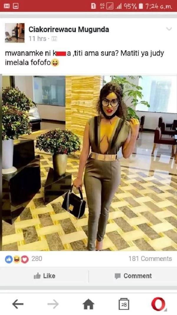 Socialite blasted for her revealing dress code