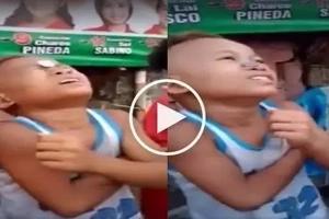 Bida ang kabataang Pinoy! Kids play funny Filipino coin game