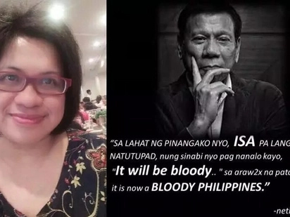 Disgusted netizen enumerates provoking reasons why she abhors President Duterte