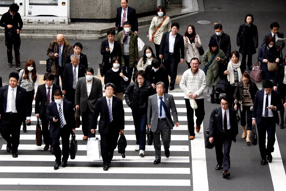 Japanese employees die from being overworked