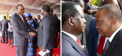 Raila would have no chance against Uhuru if elections were held today -opinion poll