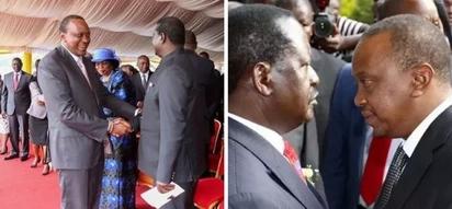Raila wants a job in Jubilee -Uhuru now claims