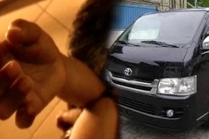 School warns against this van with medical tools prowling for unsuspecting students to kidnap after its student narrowly escapes