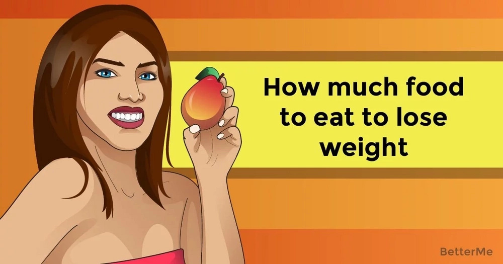 How much food to eat to lose weight