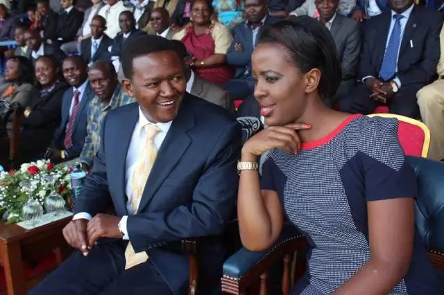 How Governor Alfred Mutua met his wife Lilian Ng'ang'a