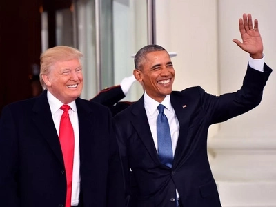Uhuru's POWERFUL message to Donald Trump after he took over from Obama