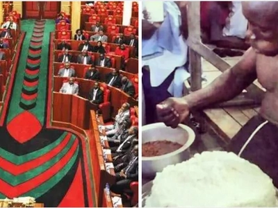 Kenyans warned against feasting on food from politicians' kitchens…