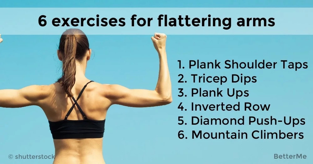 6 exercises for flattering arms