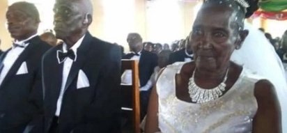 90-year-old father of 10 marries 83-year-old virgin granny