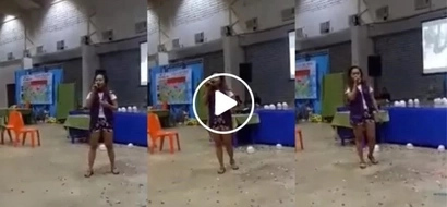 "Ginalingan masyado! This viral video of a talented Pinay singing Beyonce hit ""Love On Top"" left netizens speechless"